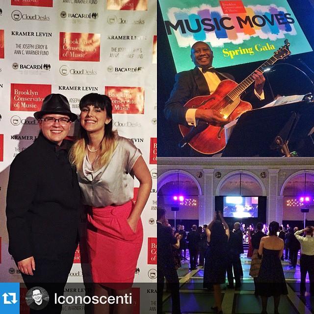 RG lconoscenti Congrats to brooklynconservatory on last nights Musicmovesgala Springhellip
