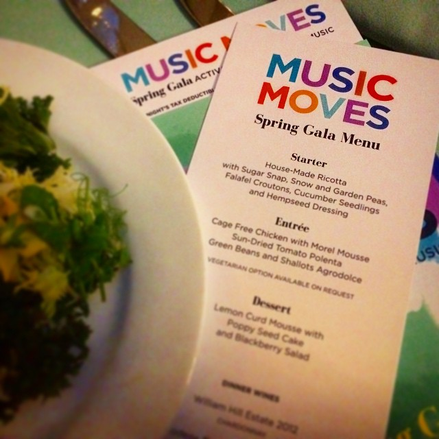 Dinner is served! musicmovesgala