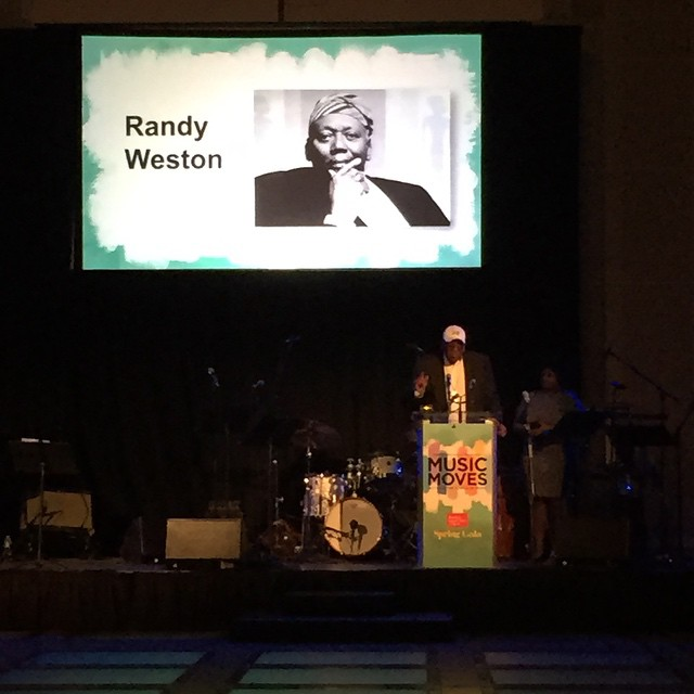 Honoring Randy Weston! Music is for everybody! musicmovesgala