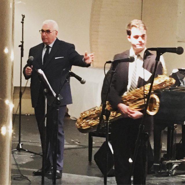 The Amy Winehouse Teen Jazz Ensemble got to perform withhellip
