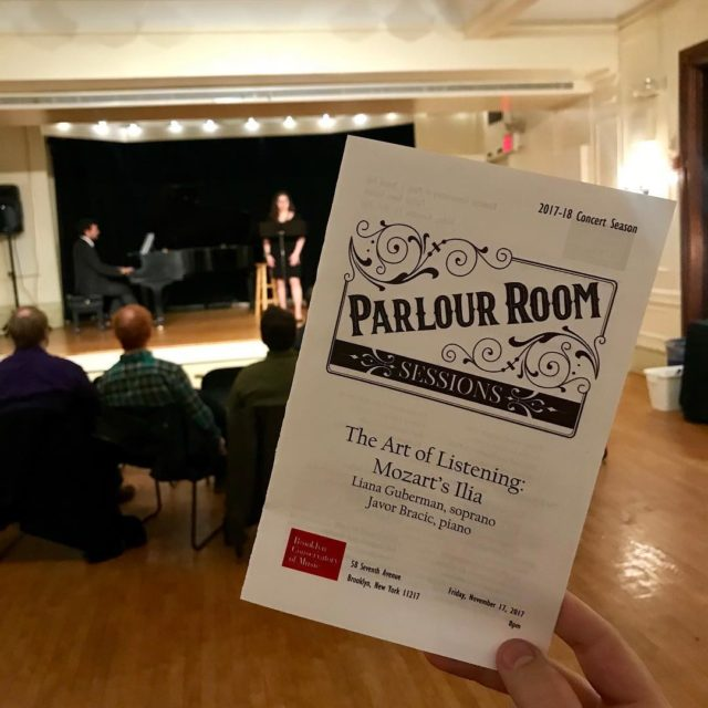 The very first Parlour Room Sessions concert is underway withhellip
