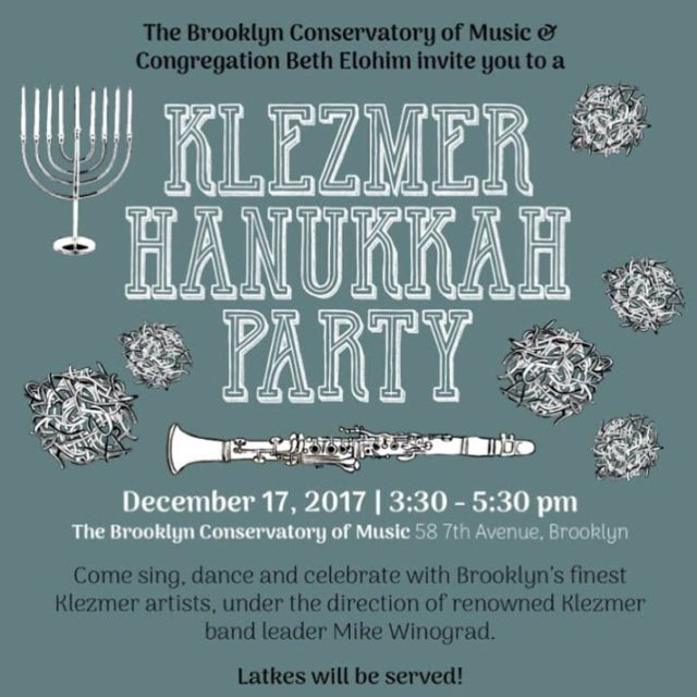 Klezmer! Crafts! Latkes! Bring the whole family to a Hanukkahhellip