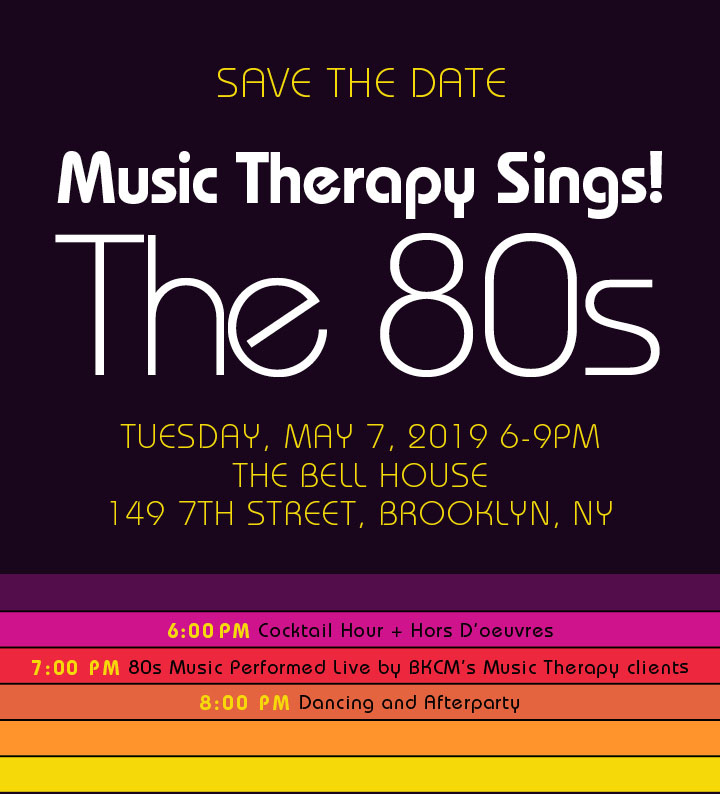Brooklyn Conservatory of Music » Music Therapy Sings! The 80s